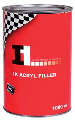 I1 1K ACRYL FILLER plnič 1000 ml