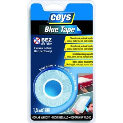 CEYS Blue Tape 1,5 m x 19 mm