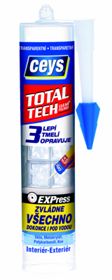 CEYS Total Tech transparentní 290 ml