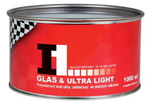 I1 GLAS & ULTRA LIGHT tmel s vláknem 1000 ml