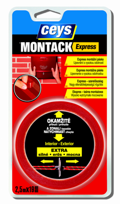 CEYS Montack Express 2,5 m x 19 mm